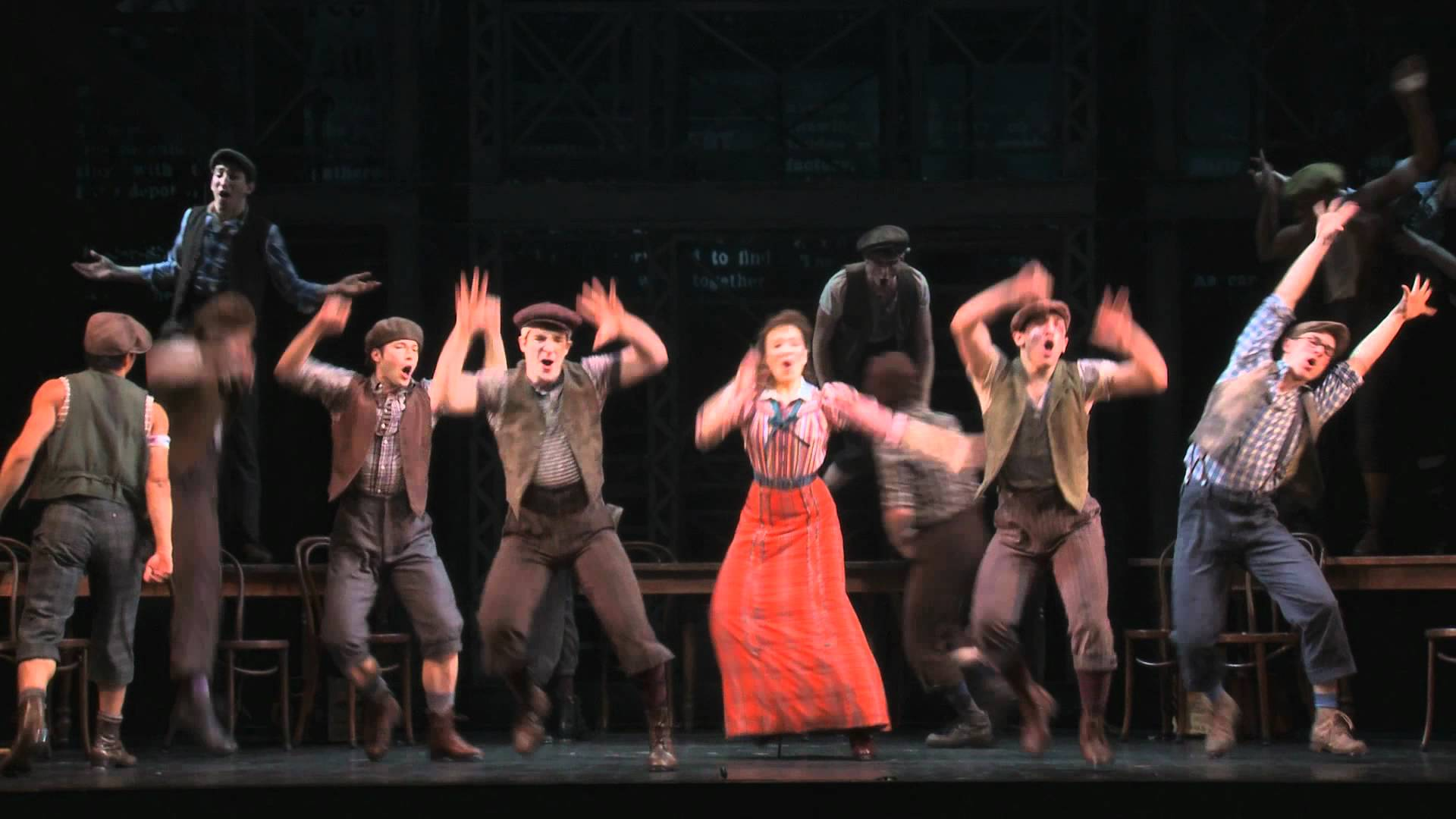 "Watch a clip of ""King of New York"" from the original Broadway cast of..."