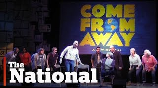 News feature on the making of Come From Away
