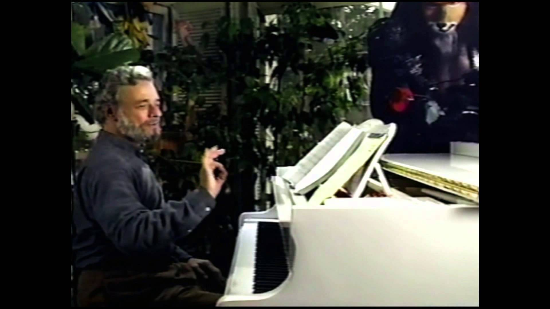 "Composer Stephen Sondheim discusses the song ""Hello Little Girl""..."