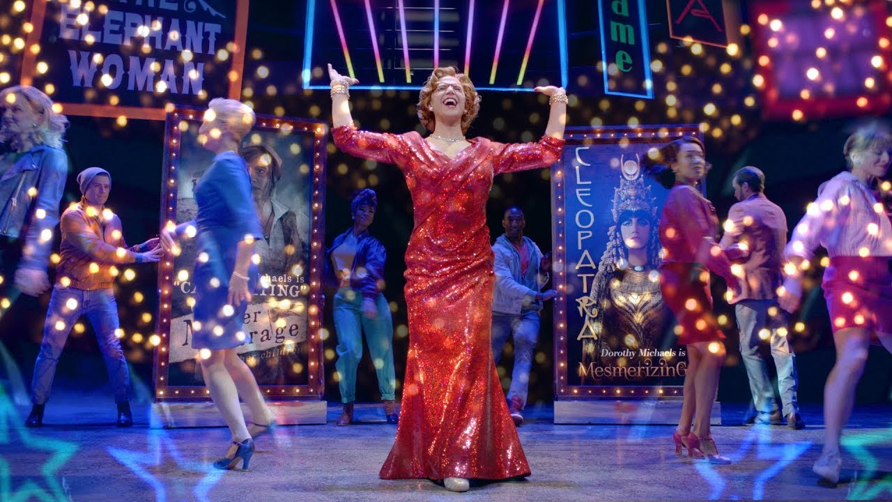 Watch the official trailer for Tootsie on Broadway!