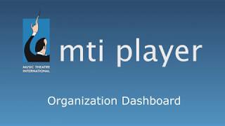 A tutorial for navigating the dashboard on the MTI Player app.