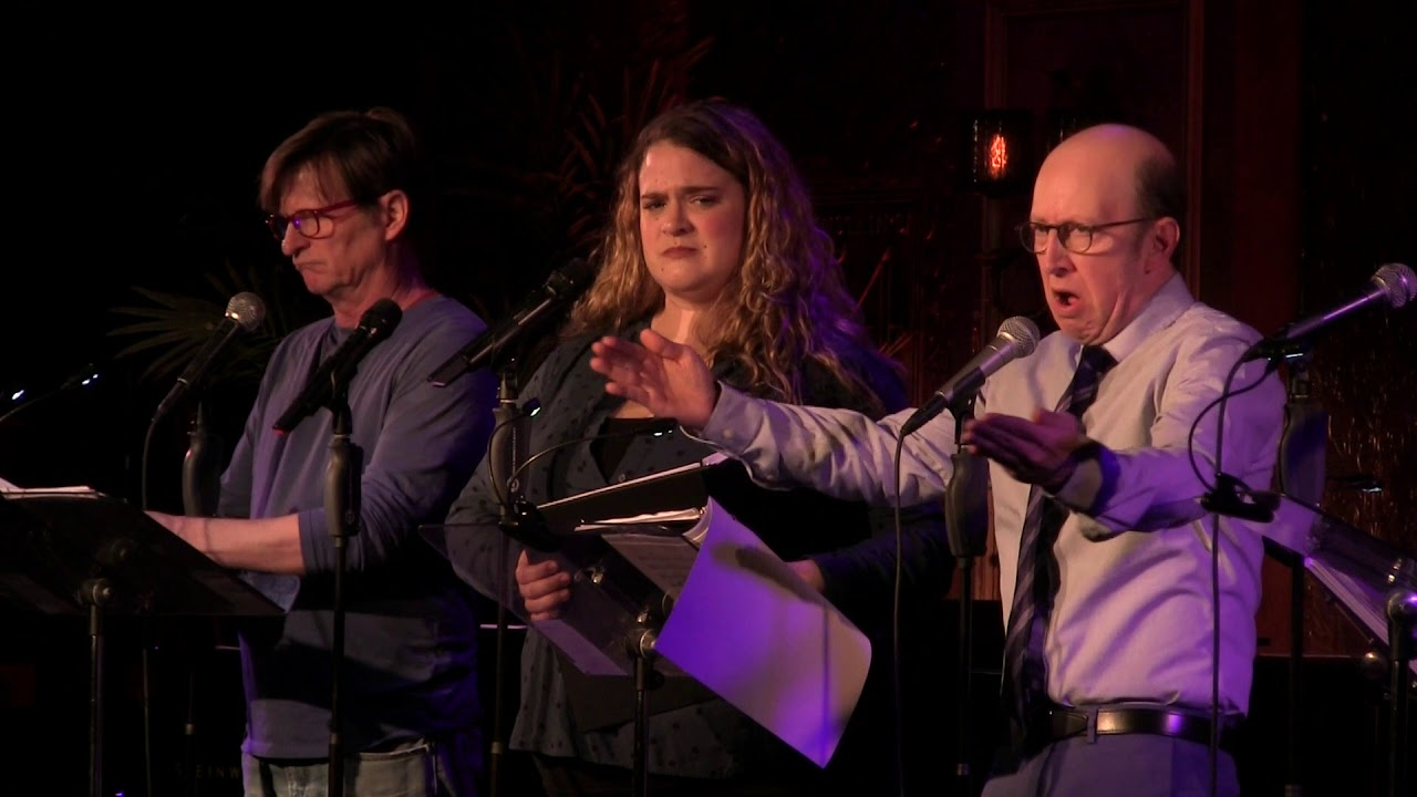 """Penguins Must Sing"" from Birds of Paradise in concert at 54 Below"