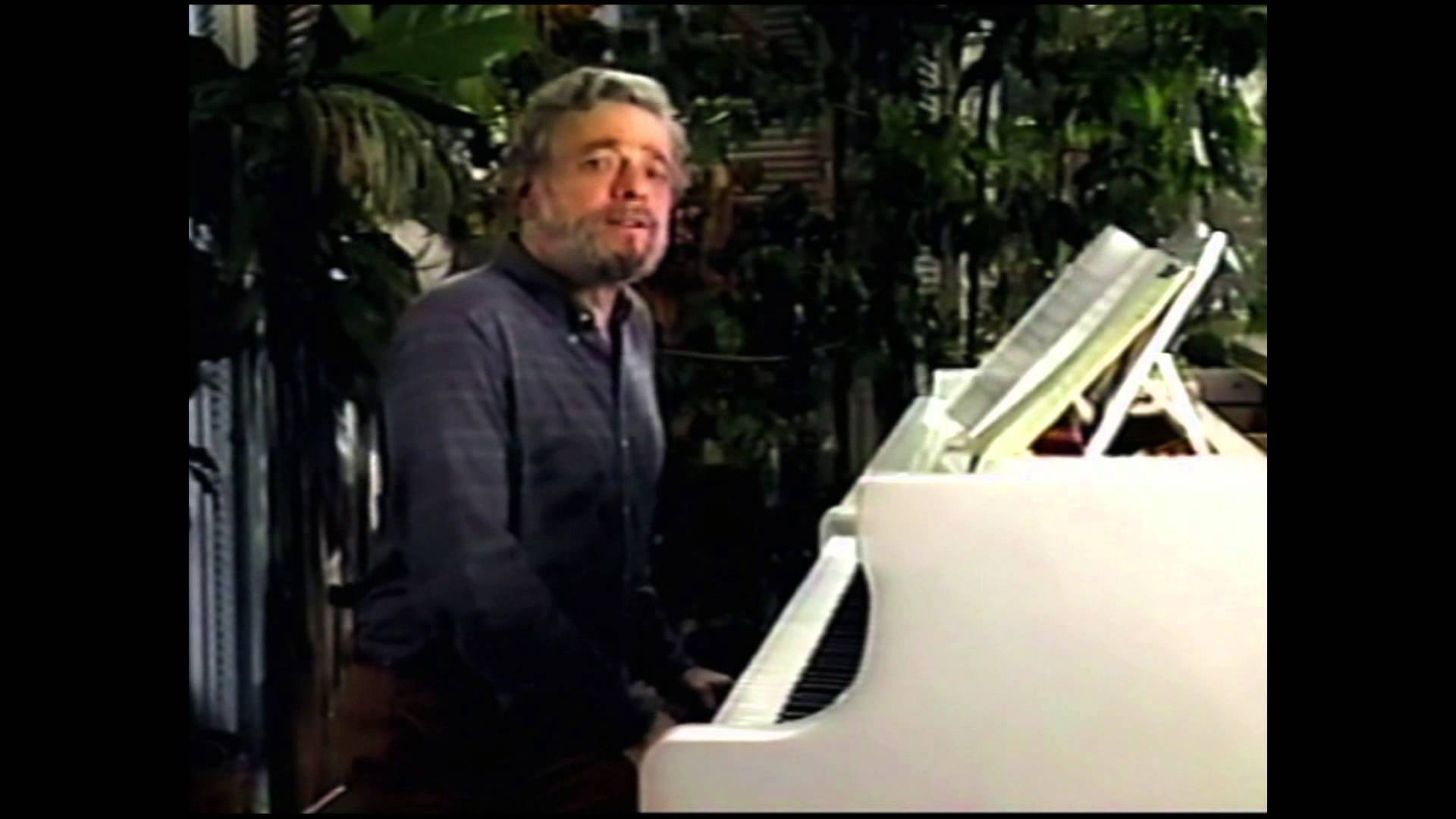 Composer Stephen Sondheim explains the importance of 5 notes in Into the Woods