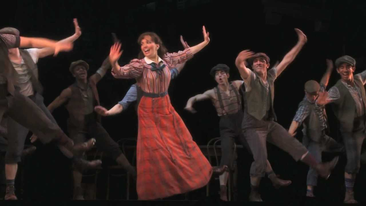 Sizzle reel for the original Broadway production of NEWSIES