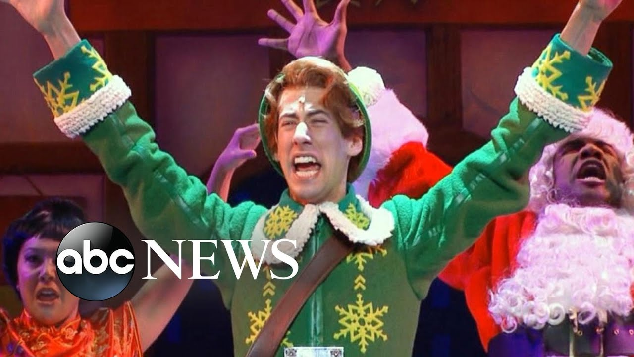 Elf The Musical performs on Good Morning America!