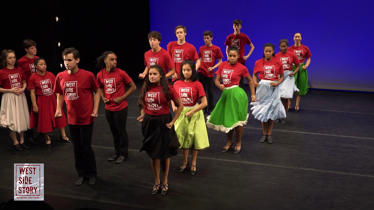 """Mambo"" - A glimpse into the Choreography DVD for West Side Story School..."