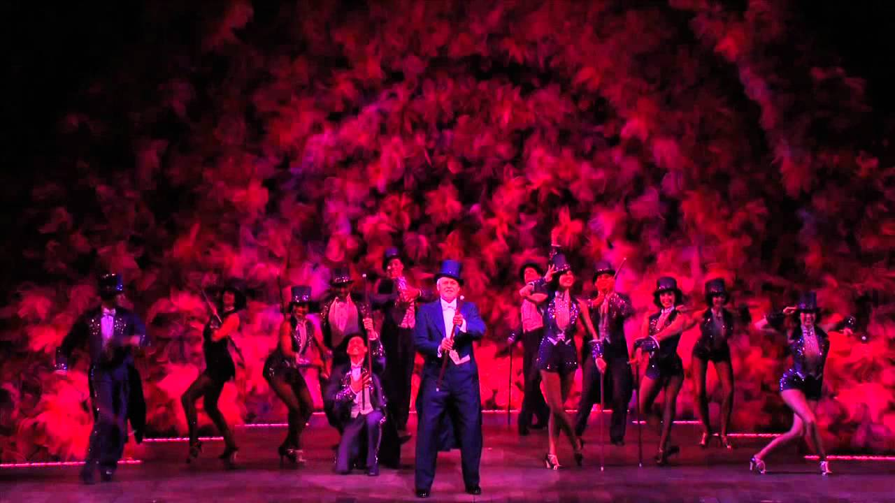 "Ron Raines and cast of the 2011 Broadway revival of Follies perform ""Live,..."