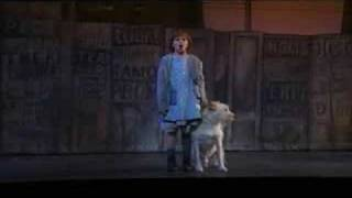 """Tomorrow"" from the national tour of Annie"
