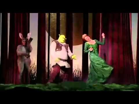 Commercial for Shrek on Broadway