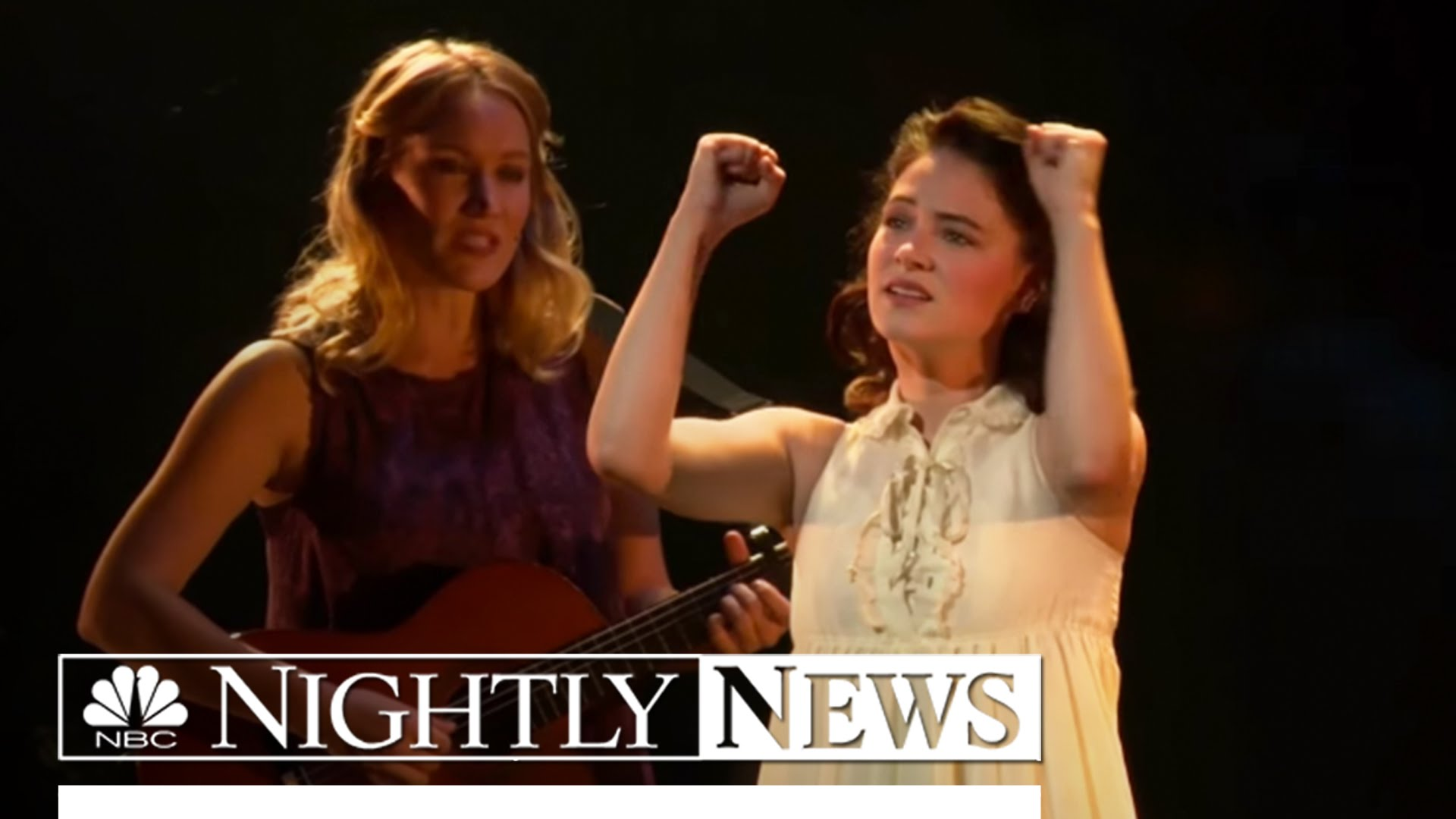 NBC's Nightly News features the groundbreaking Broadway revival of Spring Awakening