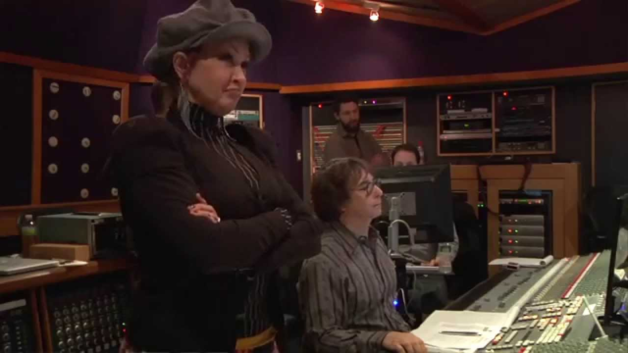 "Recording ""The Sex is in the Heel"" for the Kinky Boots original cast album"