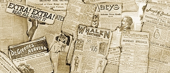 Grosh Backdrops Newsies  backdrops used in productions of Newsies