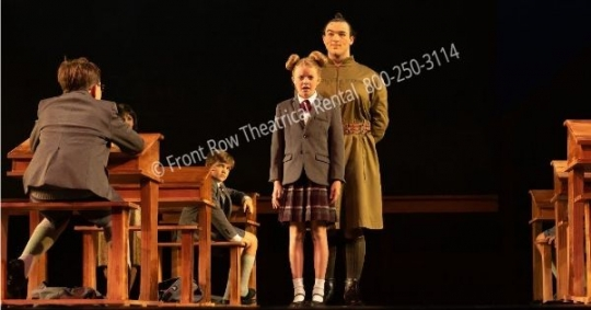 Matilda Musical Classroom set - set rental - Front Row Theatrical - 800-250-3114