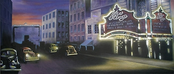 Grosh backdrops used in the productions of Annie