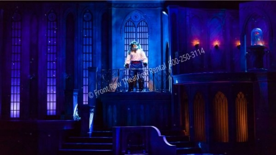 Beauty and the Beast West Wing Castle - set rental - Front Row Theatrical - 800-250-3114