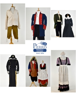 Rental Costumes for Les Mis