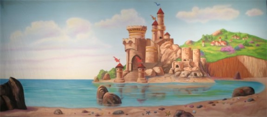 Castle by the Beach is a must for your stage performance of The Little Mermaid