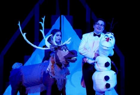 Puppets for Frozen Jr Musical