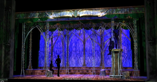 Into the Woods set rental - No One is alone - Stagecraft  Theatrical - 800-499-1504