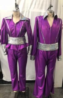 Purple Mamma Mia Costumes for More Information Visit https://www.thecostumer.com/t-show-mamma-mia.aspx