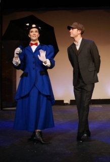 Mary Poppins walking suit