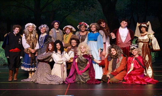 Into the Woods, Jr. Cast Picture