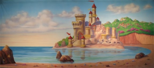 Castle by the Beach is a must for your stage production of The Little Mermaid