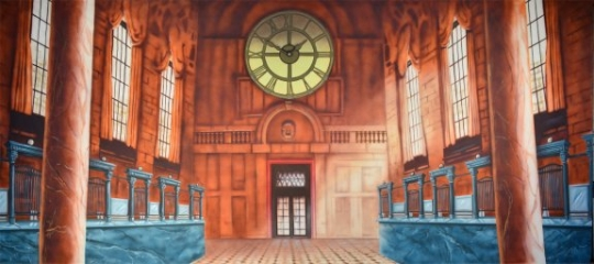 Bank Interior projection used in productions of Harry Potter and Mary Poppins
