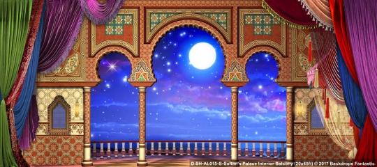 aladdin backdrops for rent mti australasia