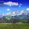 Mountain Meadow C Scenic Backdrop