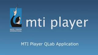 Learn how the MTI Player app works with QLab