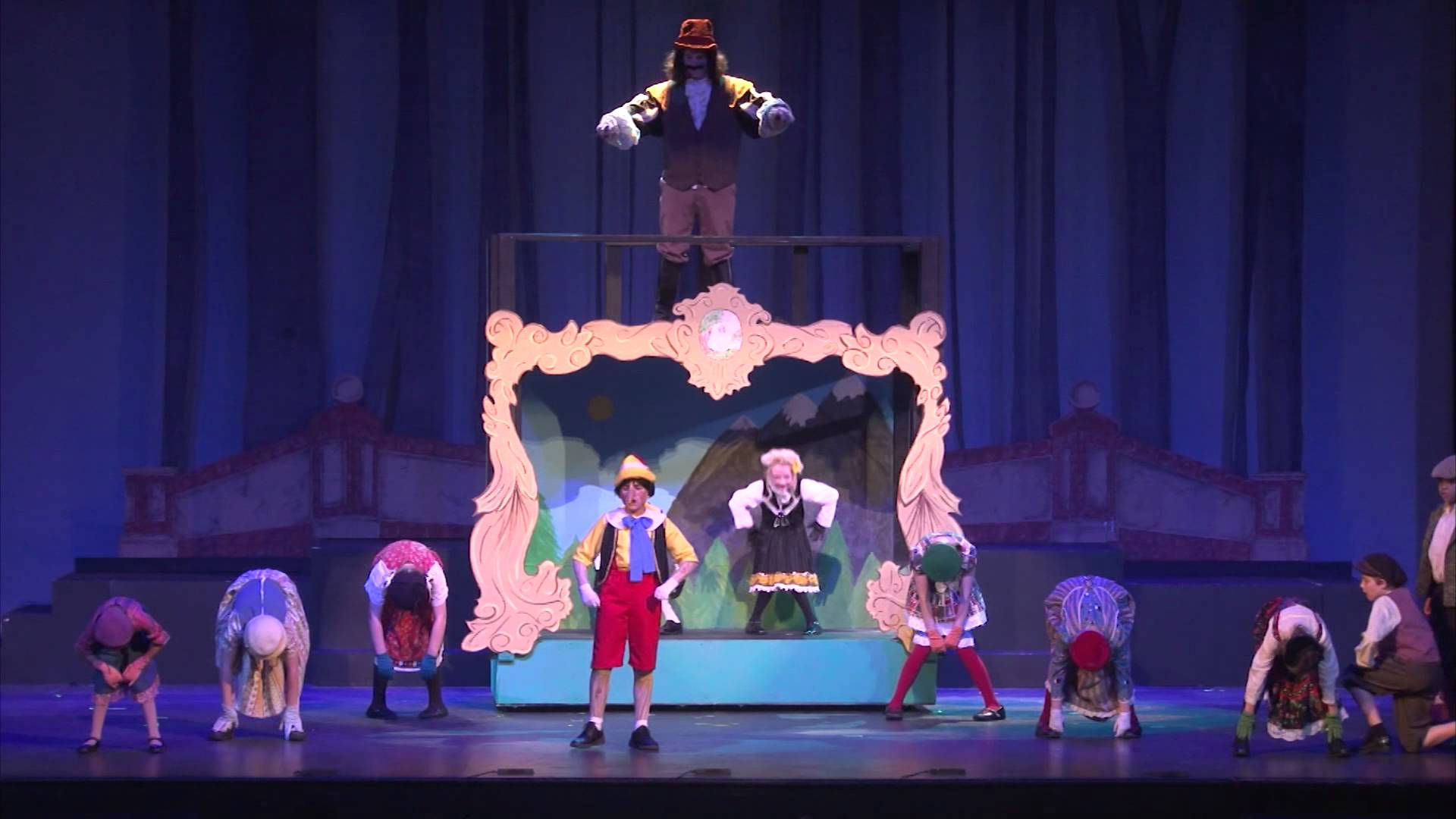 Tuscaloosa Children's Theatre presents Disney's My Son Pinocchio Jr. at the Historic...