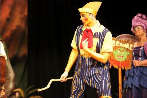 Shrek the musical pinocchio costume
