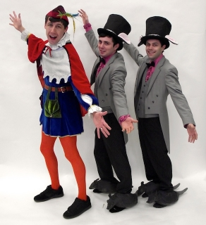 Shrek the musical Pied Piper and Rat Tappers costumes