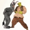 Shrek the musical shrek and donkey costumes